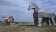 Бычок и лошадка